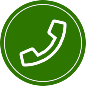 icon for contact us by phone in green