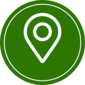 icon for local seo services in green